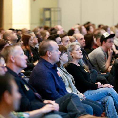 Distribution company training meeting