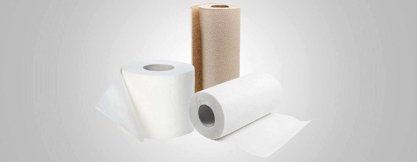 Paper towel, bath tissue for businesses